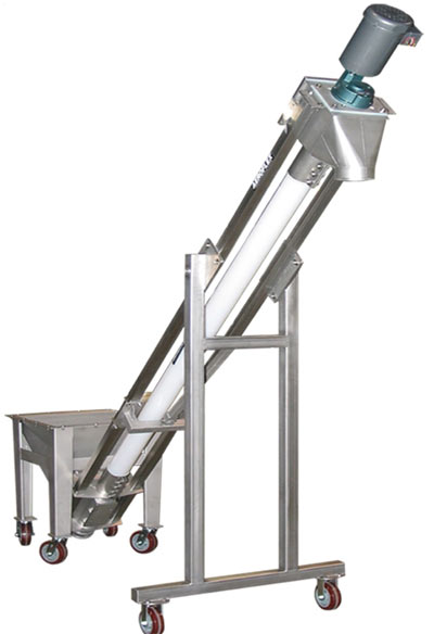 VAC-U-MAX Flexible Screw Conveyors