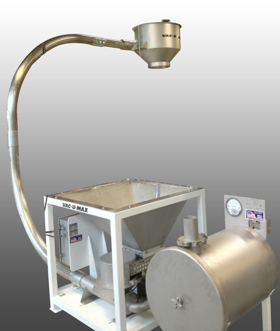 Pneumatic Bottle Cap Conveying System